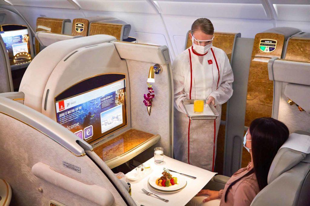 In der Emirates First Class unterwegs / Foto: Emirates