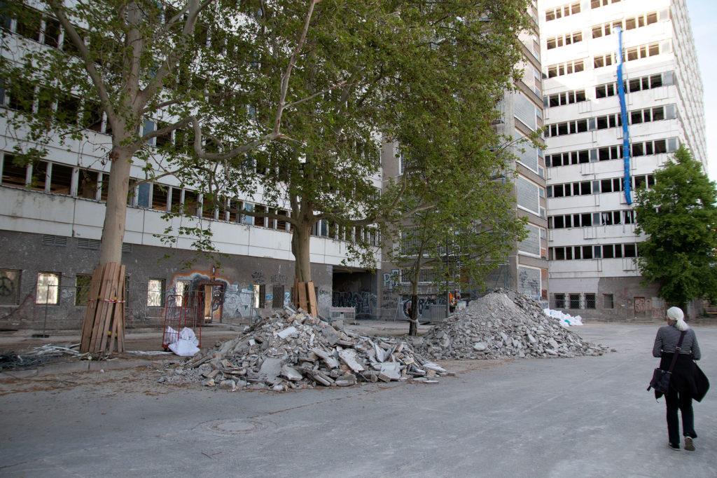Allesandersplatz - das ehemalige Haus der Statistik / Foto: Ingo Paszkowsky