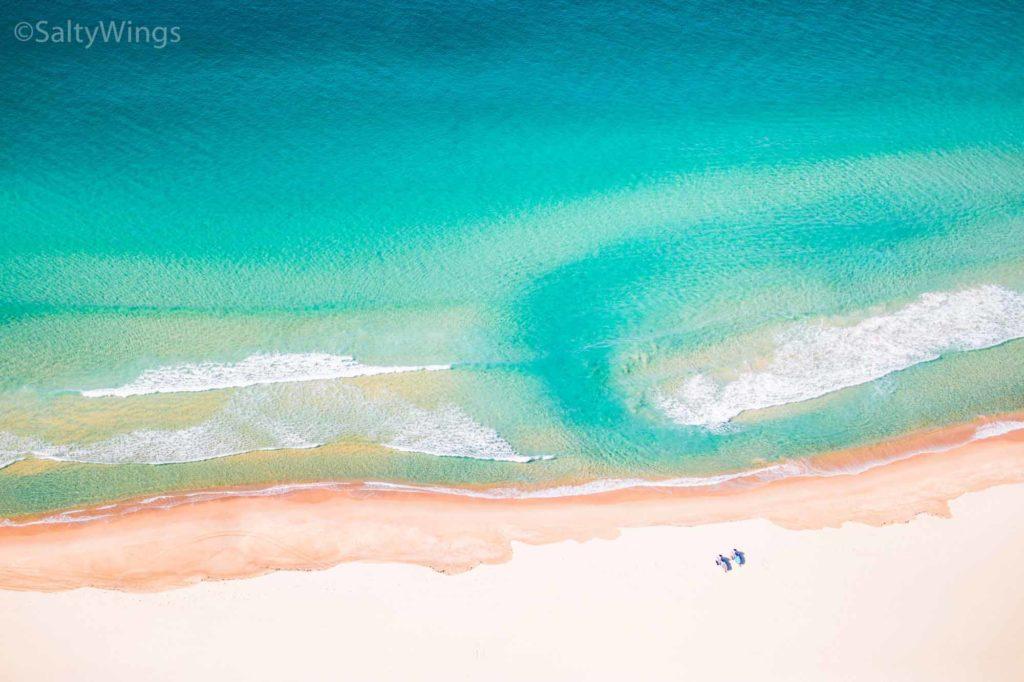 Bondi Beach in Sydney. Wunderschöner Strand und keiner ist da. It's Corona time / Copyright SaltyWings