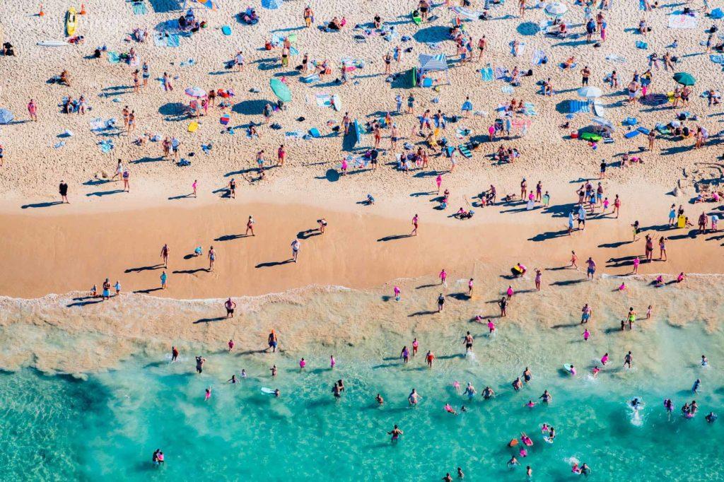 Da war die Welt am Bondi Beach in Sydney noch in Ordnung, ohne Corona-Virus / Copyright SaltyWings