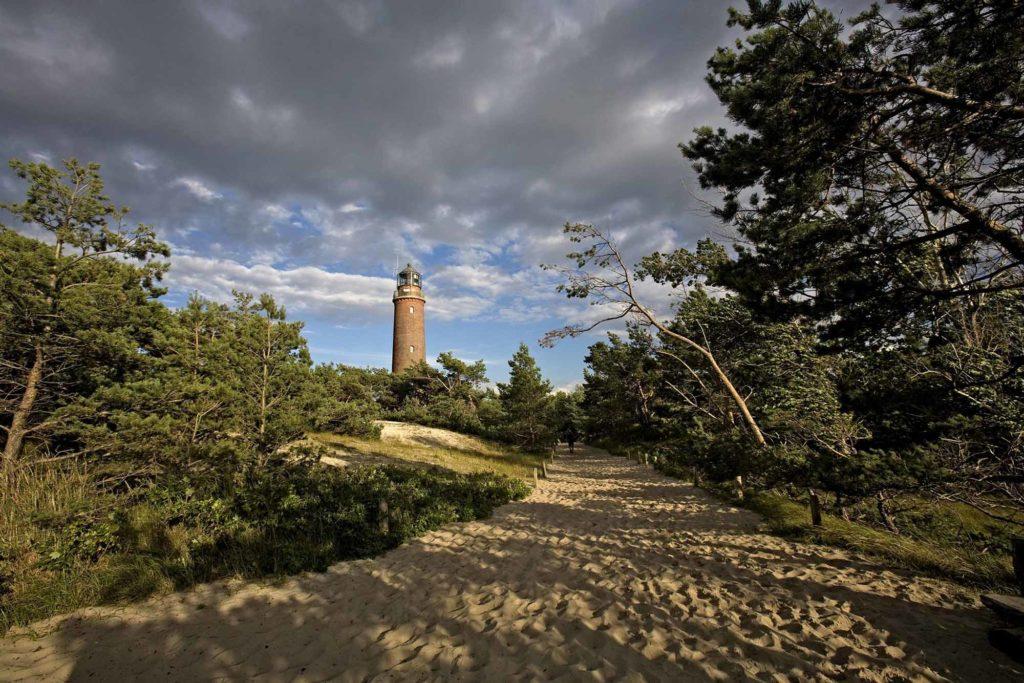 Der Leuchtturm am Darßer Ort / Quelle: Voigt & Kranz UG