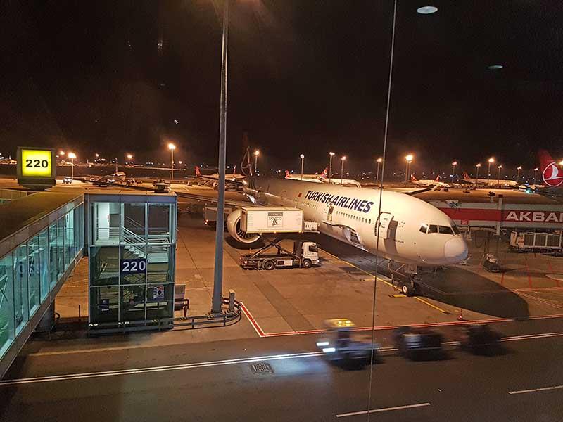 Flughafen Atatürk, Istanbul. Foto: WeltReisender.net / Stefanie Gendera