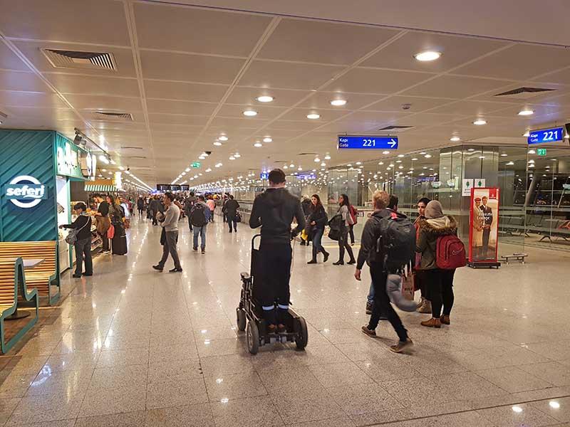 Flughafen Istanbul. Foto: WeltReisender.net / Stefanie Gendera
