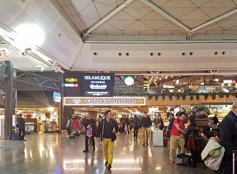 Flughafen Atatürk. Foto: WeltReisender.net / Stefanie Gendera
