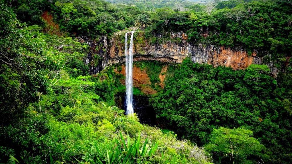 Wasserfall auf Mauritius / Foto: pixabay / wurliburli