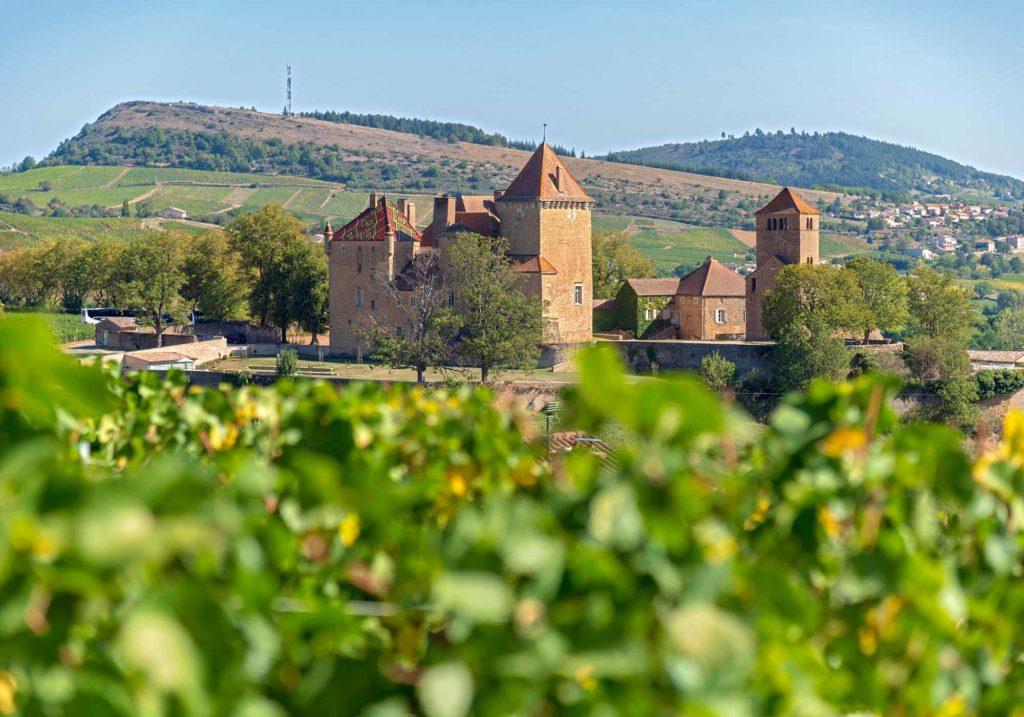 Château de Pierreclos / Foto: Alain DOIRE / Bourgogne-Franche-Comté Tourisme