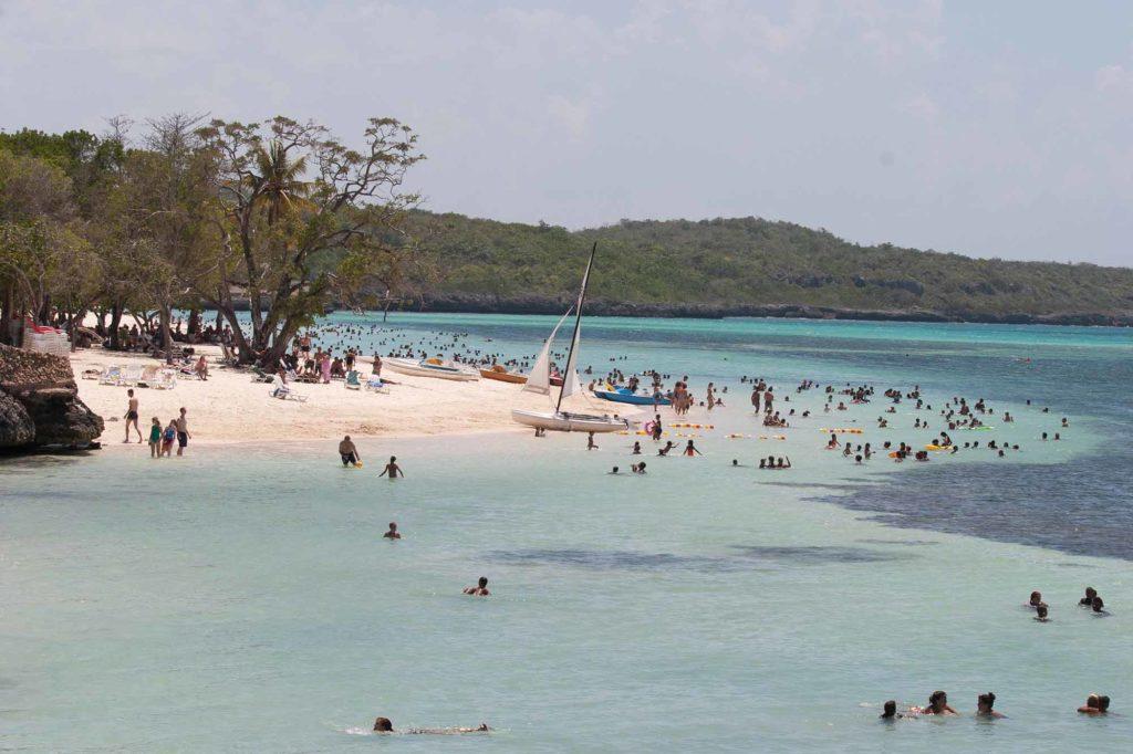Auf Kuba ist die Region Varadero wieder geöffnet. Dies ist aber ein anderer Strand / Foto: Ingo Paszkowsky