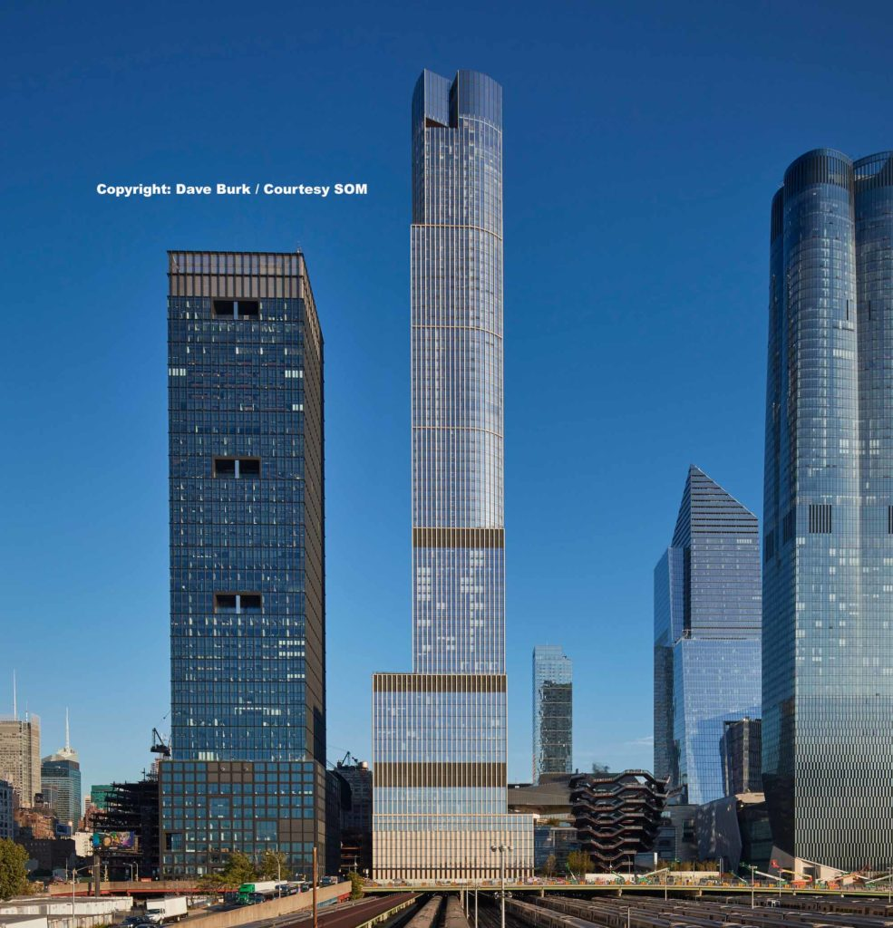 35 Hudson Yards / Copyright: Dave Burk / Courtesy SOM