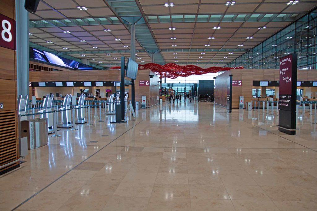 Der neue Airport der Hauptstadtregion erwartet seine Fluggäste / Foto: Ingo Paszkowsky