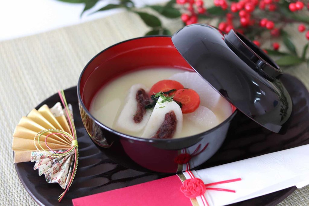 Miso Suppe mit Mochis / Foto: SETOUCHI Tourism Authority