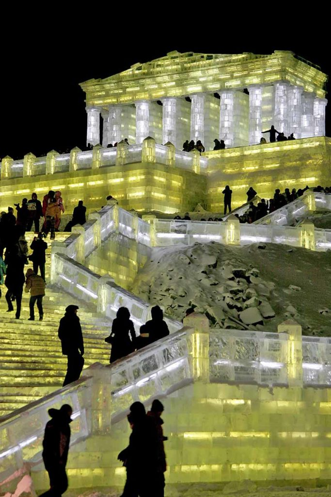 2008 Ice Festival in Harbin, China / Foto: Elijah Wilcott / CC BY-SA 4.0 / https://creativecommons.org/licenses/by-sa/4.0/deed.en