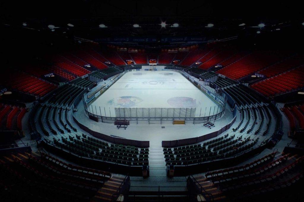 Die Scandinavium Arena, als Multifunktionshalle mit 14.000 Plätzen üblicherweise Austragungsort für Großveranstaltungen wie ein Stones-Konzert, wird je Film nur für einen einzigen Zuschauer zugänglich sein / Foto: www.visitsweden.com / Scandinavium / Jussi Ohrvall