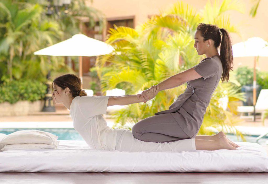 Massage im Hotel Botanico auf Teneriffa / Foto: Turismo de Tenerife