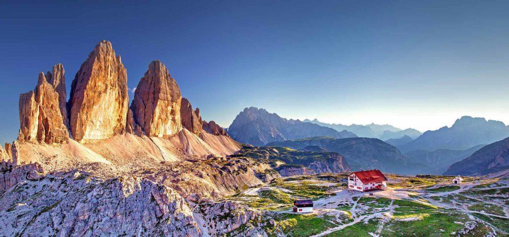 Die Drei Zinnen in Südtirol / Foto: pixabay / Julius_Silver