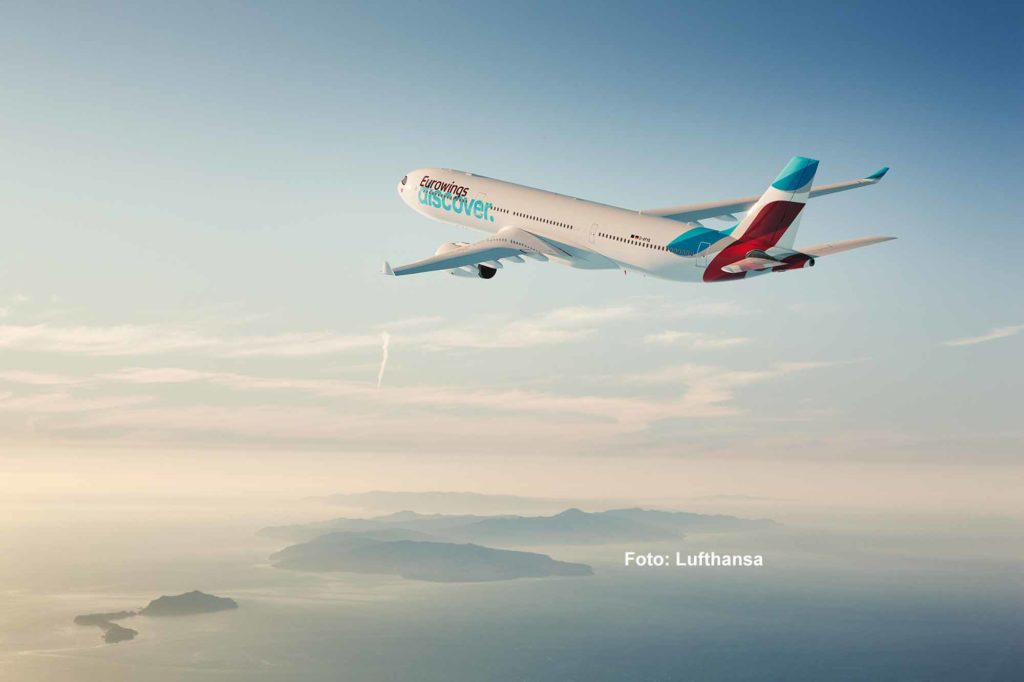 Eurowings Discover Airbus A330-343 / Foto: Lufthansa