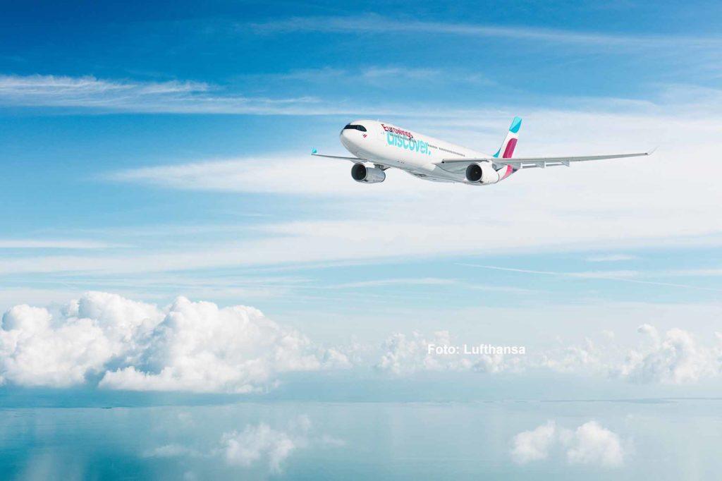 Im Juli 2021 startet Eurowings Discover zu ihrem Erstflug nach Mombasa mit Weiterflug nach Sansibar / Foto: Lufthansa