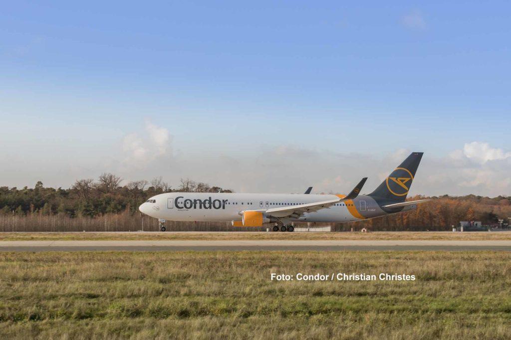 Condor Rebranding - Aufgenommen von Christian Christes / Flughafen Frankfurt am Main