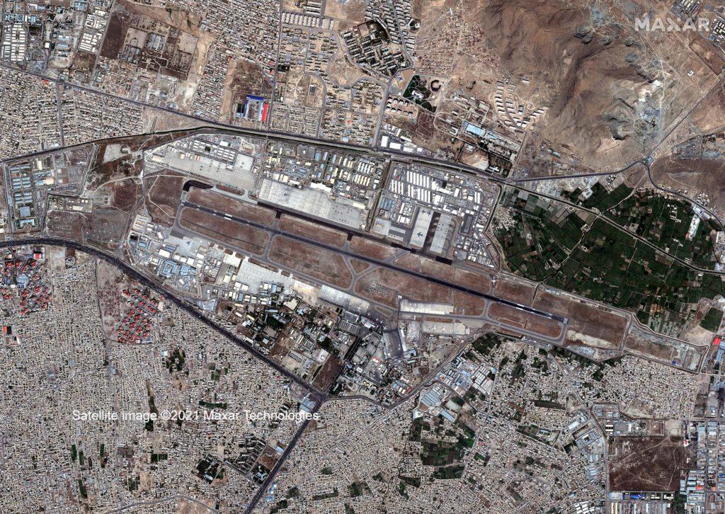 In kürzester Zeit haben die Taliban nahezu ohne Widerstand durch die Armee Afghanistan übernommen. Nur der Kabul International Airport ist derzeit noch nicht in der Gewalt der Taliban.