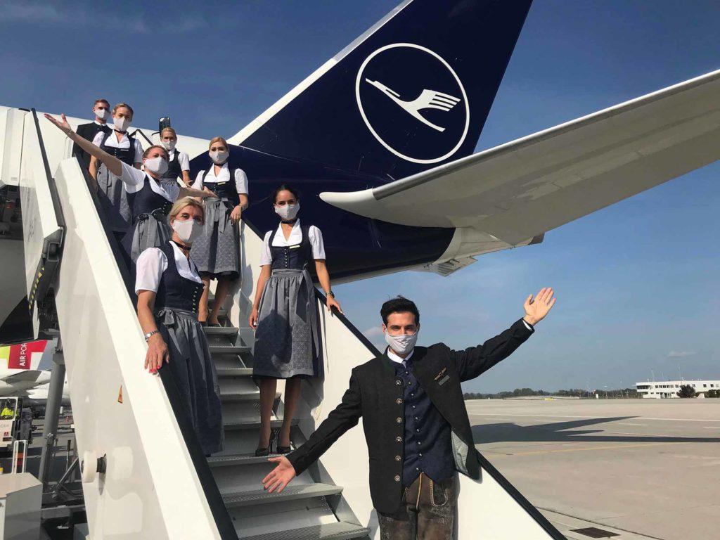 Lufthansa Trachtencrew ist eine Hommage an das Münchner Oktoberfest / Foto: Lufthansa