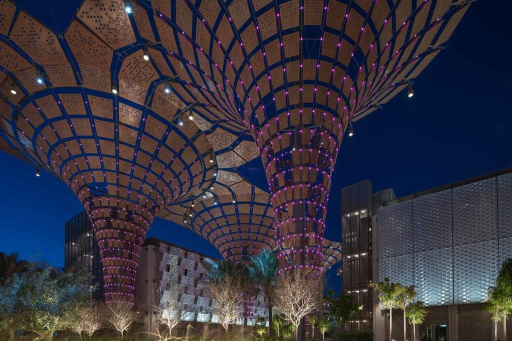 Opportunity District auf der EXPO 2020 / Foto: EXPO 2020 Dubai / Suneesh Sudhakaran
