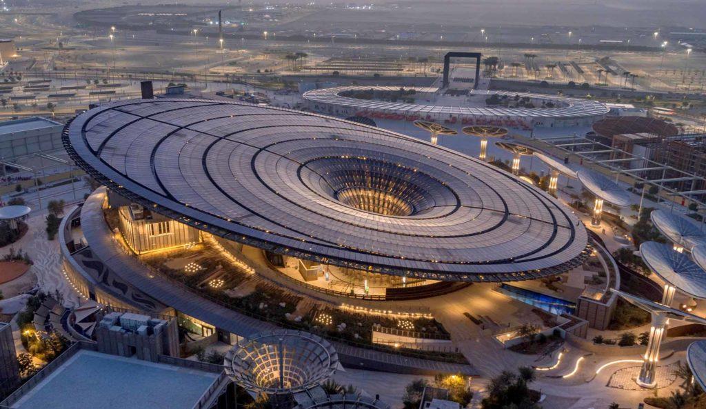 Nachhaltigkeitspavillon auf der EXPO 2020 / Foto: EXPO 2020 Dubai