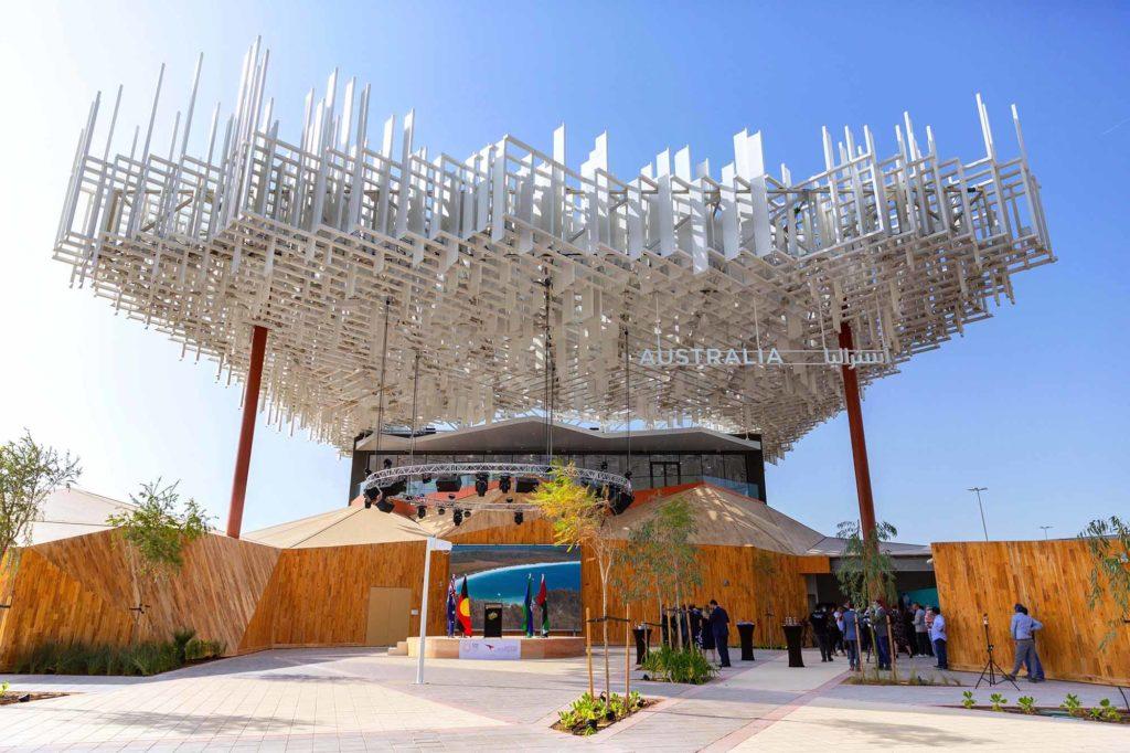 Der Pavillion von Australien auf der EXPO 2020 / Foto: EXPO 2020 Dubai