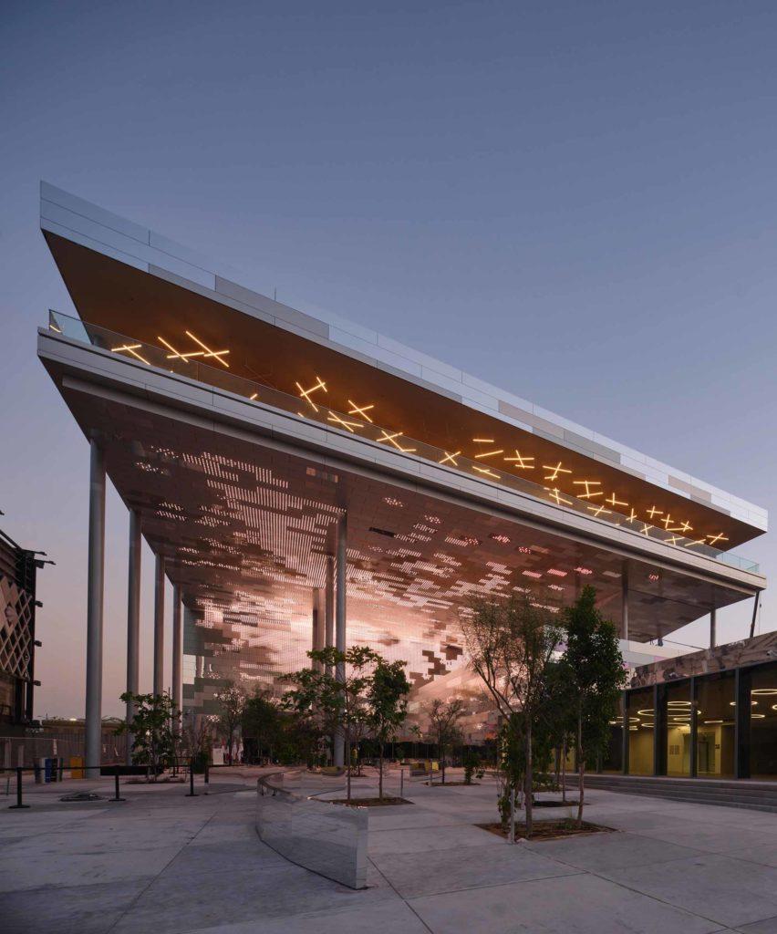 Der Pavillon Frankreichs auf der EXPO 2020 / Foto: EXPO 2020 Dubai