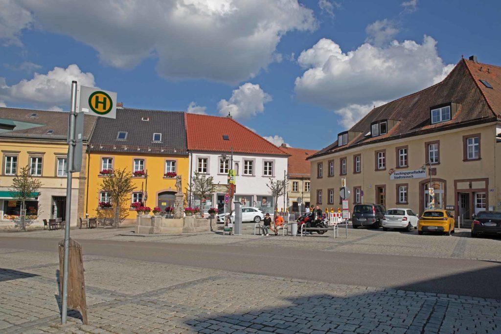 Markplatz in Stadtsteinach / Foto: Ingo Paszkowsky