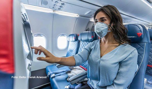 Delta blockiert den mittleren Sitz in allen Flügen bis zum 30. März 2021 / Foto: Delta / Derek Arwood