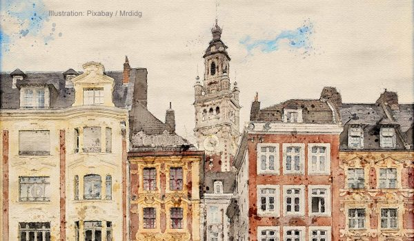 Lille ist in jedem Fall einen Besuch wert und bietet Frankreich-Fans ein breites Spektrum an kulturellen und geschichtlichen Attraktionen / Foto: pixabay Mrdidg