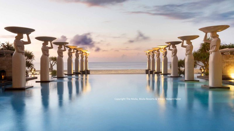 Oasis Pool im The Mulia / Copyright: The Mulia, Mulia Resort & Villas – Nusa Dua, Bali