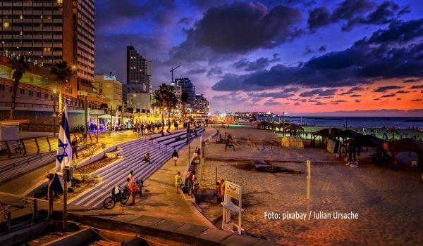 Tel Aviv, die Stadt die niemals schläft / Foto: pixabay / Iulian Ursache