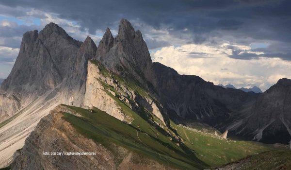 Eindrucksvolle Berge in Südtirol / Foto: pixabay / icapturemyadventures