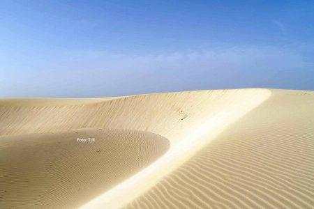 Sand und Wüsten prägen den Großteil der Insel Sal. Foto: TUI