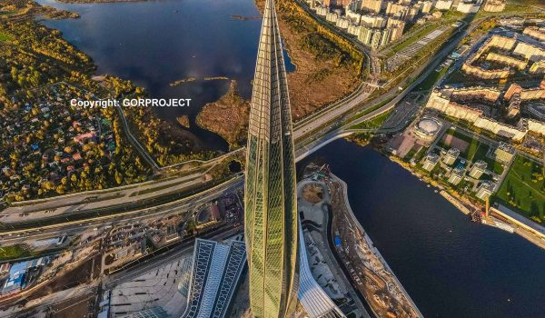 Lakhta Center / Copyright: GORPROJECT