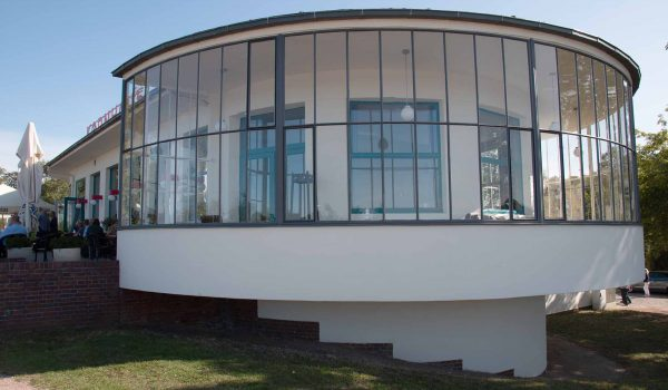 Sehr nett und modern sei das Kornhaus, schrieb 1930 ein Bauhaus-Schüler begeistert an seine Mutter. / Foto: Ingo Paszkowsky