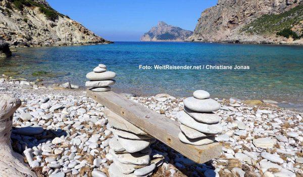 Cala de Bóquer, mit ihrem kleinen Kiesstrand / Foto: WeltReisender.net / Christiane Jonas