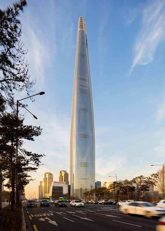 Lotte World Tower. Foto: Tim Griffith