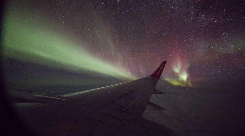 Nordlicht in Kanada: Flug durch die Aurora Borealis